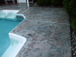 Pool Deck Baton Rouge, Louisiana   Superior Concrete Tech, LLC