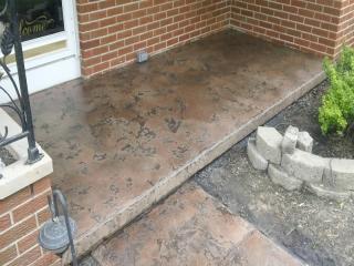 Slate Stained Concrete Baton Rouge, LA   Superior Concrete Tech