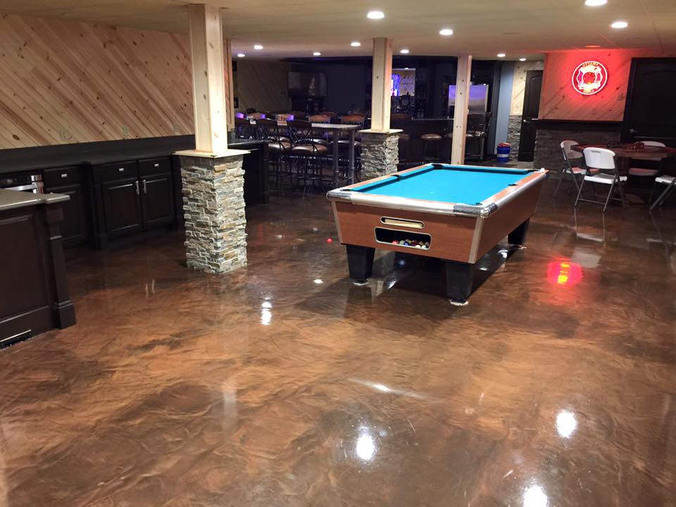 Concrete Marble Epoxy Flooring | Baton Rouge Louisiana | Superior Concrete Tech