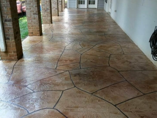 Stamped Concrete   Baton Rouge Louisiana