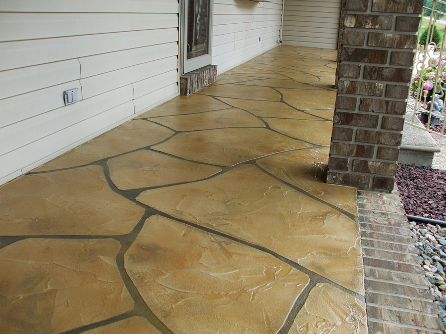 Grand Flagstone Concrete | Superior Concrete Tech