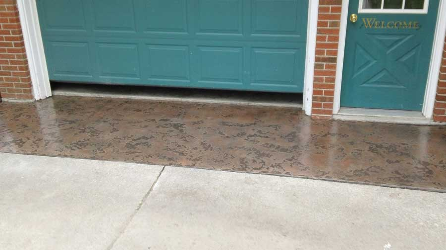 Slate Stained Concrete Baton Rouge, LA | Superior Concrete Tech